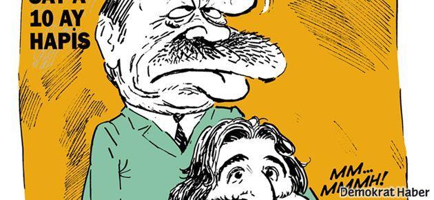 Fazıl Say ve Erdoğan Leman'ın kapağında