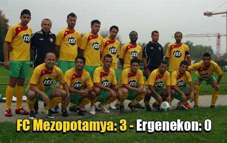 FC Mezopotamya:3 - Ergenekon:0