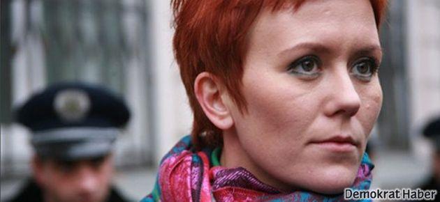 Femen liderine saldırı: Eylem planları çalındı