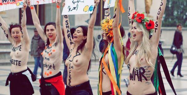 FEMEN'in Paris'teki merkez ofisine kapatma kararı