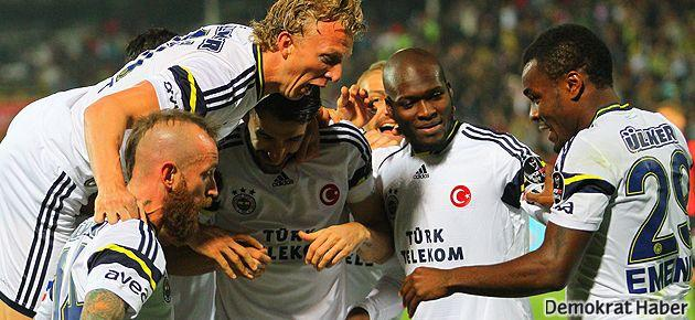 Fenerbahçe 3 puanı kaptı arayı açtı