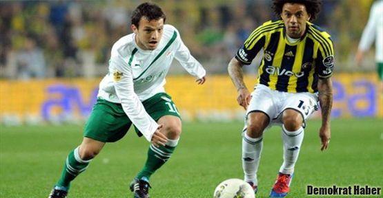 Fenerbahçe Bursa'dan  1 puanla döndü