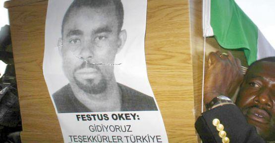 Festus Okey'in ailesine ulaşıldı