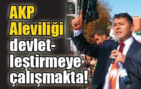Fevzi Gümüş: AKP Aleviliği devletleştirmeye çalışmakta