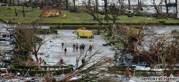 Filipinler'de 'süper tayfun' felaketi