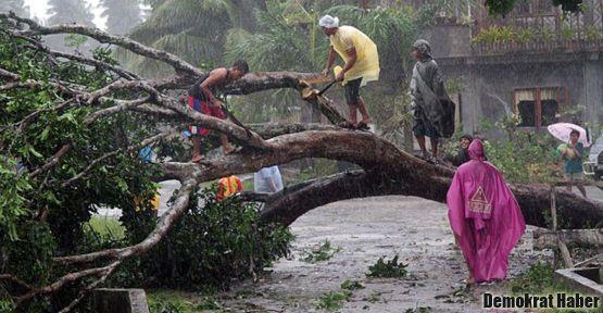 Filipinlerde tayfun: En az 200 ölü