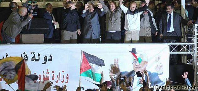 Filistinli 26 mahkum serbest