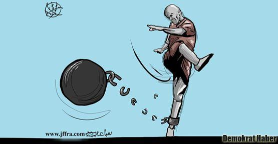 Filistinli futbolcu Sarsak da kazandı
