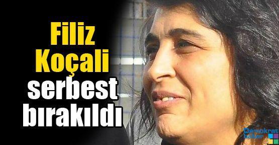 Filiz Koçali serbest bırakıldı