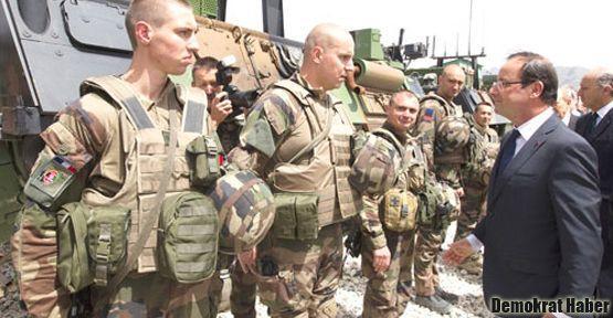 Fransa Suriye sınırına asker yolluyor