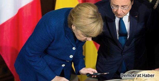 Fransa ve Almanya'dan Rusya'ya gözdağı