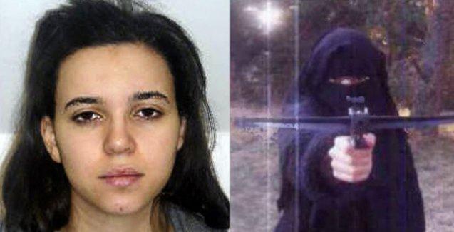 Fransa'da aranan market saldırganının eski sevgilisi 'Türkiye'den Suriye'ye geçti'
