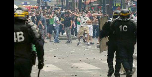 Fransa'da İsrail protestosu: 60 gözaltı