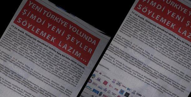 Fuat Avni'nin bahsettiği 'şaşaalı' o ilan yayımlandı