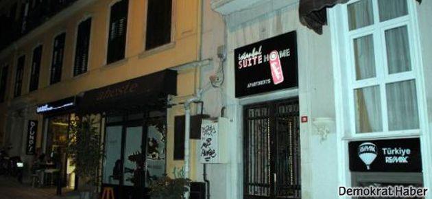 'Galata'da apartlara 'kız-erkek' baskını'