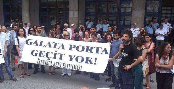 Galataport projesine durdurma kararı
