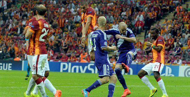 Galatasaray: 1 Anderlecht: 1