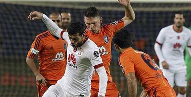 Galatasaray, Başakşehir'e de farklı mağlup oldu