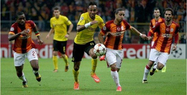 Galatasaray  B.Dortmund'a farklı mağlup oldu