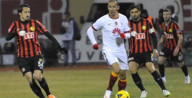 Galatasaray deplasmanda Eskişehirspor'u mağlup etti