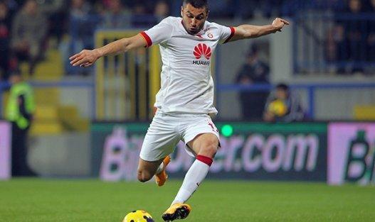 Galatasaray, Gaziantepspor'u Burak Yılmaz'ın son dakika golüyle geçti