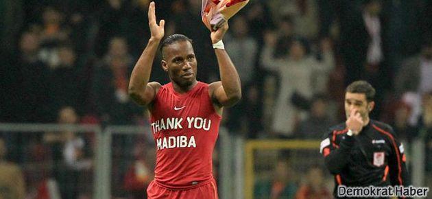 Galatasaray: Irkıçılığa ceza yok, Drogba'ya var