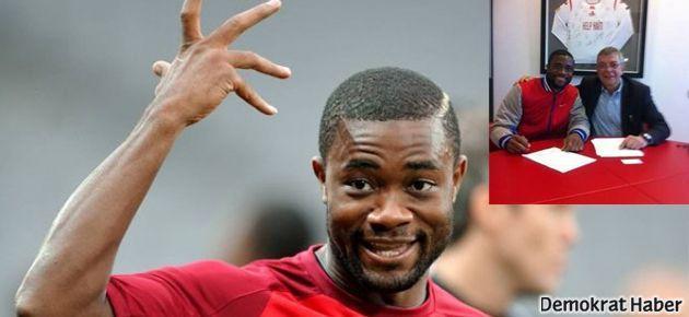 Galatasaray Kamerunlu yıldızın transferini bitirdi