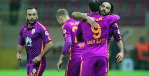 Galatasaray Kupa'daki ilk maçını kazandı