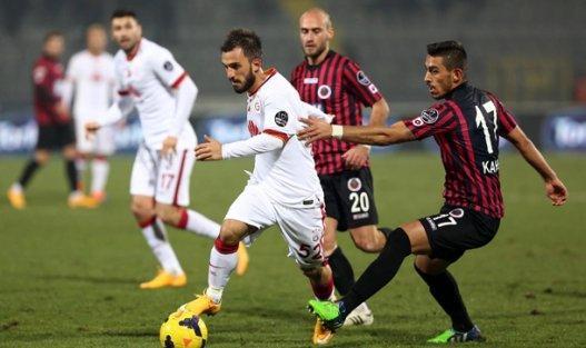 Galatasaray, öne geçtiği maçta Gençlerbirliği ile 1-1 berabere kaldı