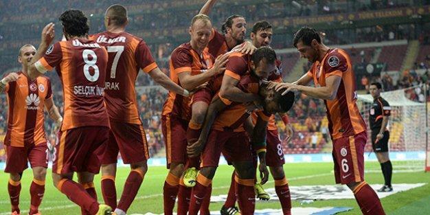 Galatasaray Sivas'tan 3 puanı aldı