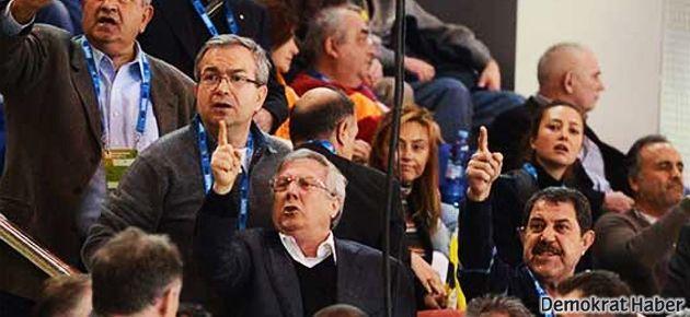 Galatasaray taraftarı Aziz Yıldırım'ı çıldırttı