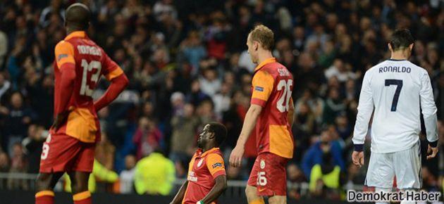 Galatasaray tur şansını zora soktu