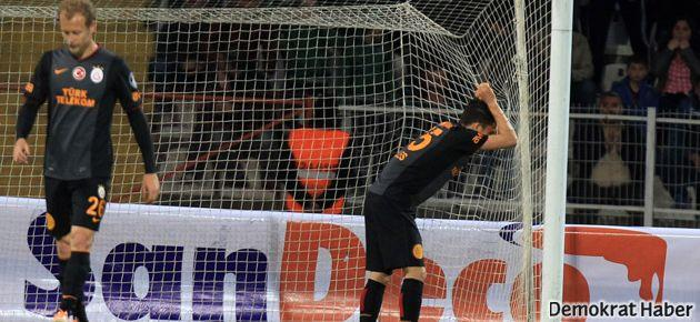 Galatasaray'a  Sivas'ta ağır darbe