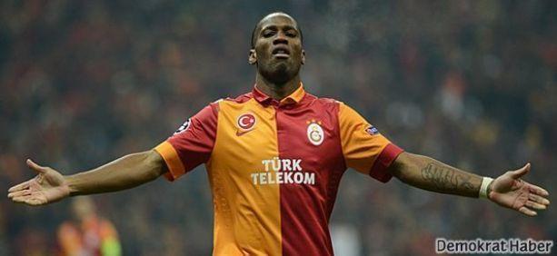 Galatasaray'da Drogba dönemi bitti