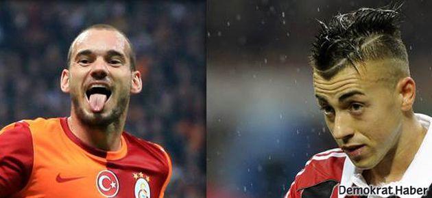 Galatasaray'da Sneijder-El Shaarawy takası mı?