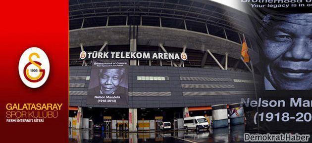 Galatasaray'dan TFF'ye Mandela pankartlı cevap