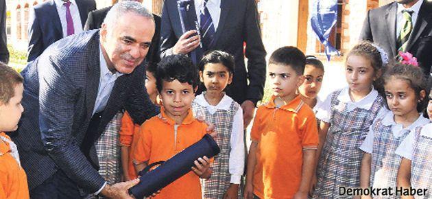 Garry Kasparov Kocaeli'de