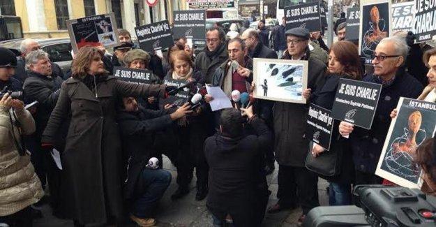 Gazeteci örgütlerinden Charlie Hebdo katliamına ortak kınama