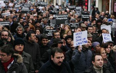 Gazeteciler pazar günü Galatasaray'da