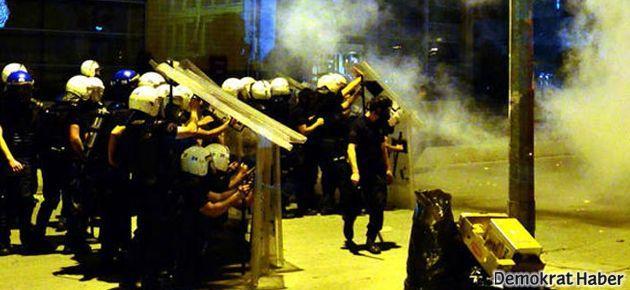 Gazi Mahallesi'nde de çatışmalar başladı