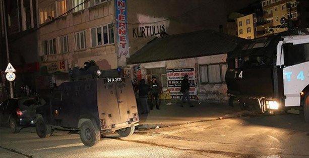 Gazi Mahallesi'nde ev baskını