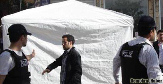 Gazi Mahallesi'nde HDK'lilere müdahale