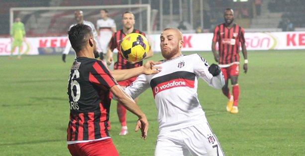 Gaziantepspor: 0 – Beşiktaş: 1