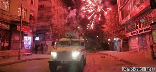 Gazi'de MOBESE karşıtı eyleme polis müdahalesi