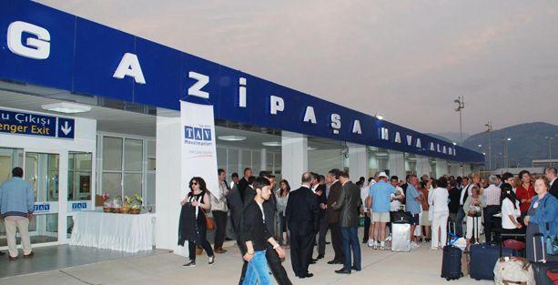 Gazipaşa Havalimanı'ndan Adana ve Beyrut'a