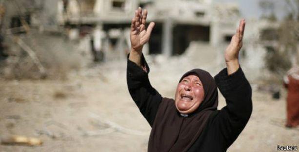 Gazze'de ölü sayısı 1500'ü aştı