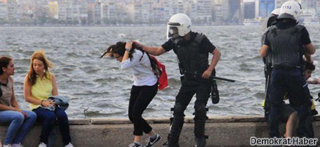Genç kadının saçını çeken polislere soruşturma
