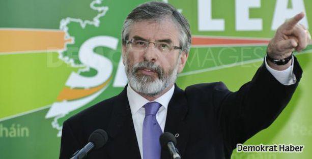 Gerry Adams serbest bırakıldı
