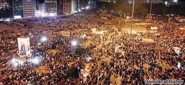 'Gezi değil, meydan boşalacak'
