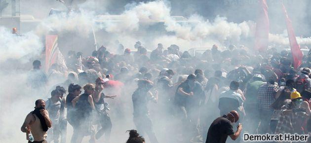 'Gezi direnişi' Taksim'den Beşiktaş'a kaydı